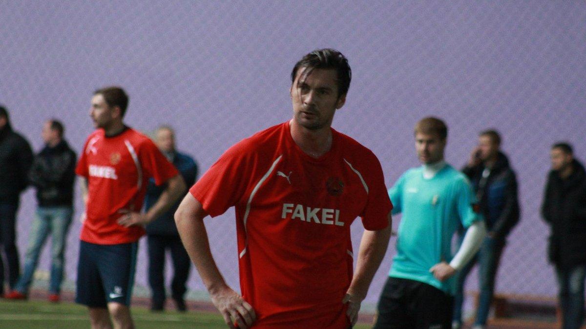Милевский вернулся на футбольное поле