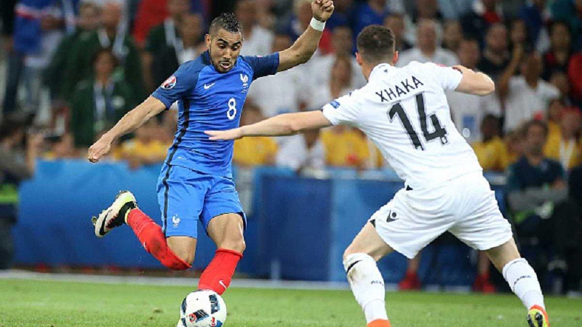 Иньеста, Пайе и Джака дважды становились игроком матча на Евро-2016