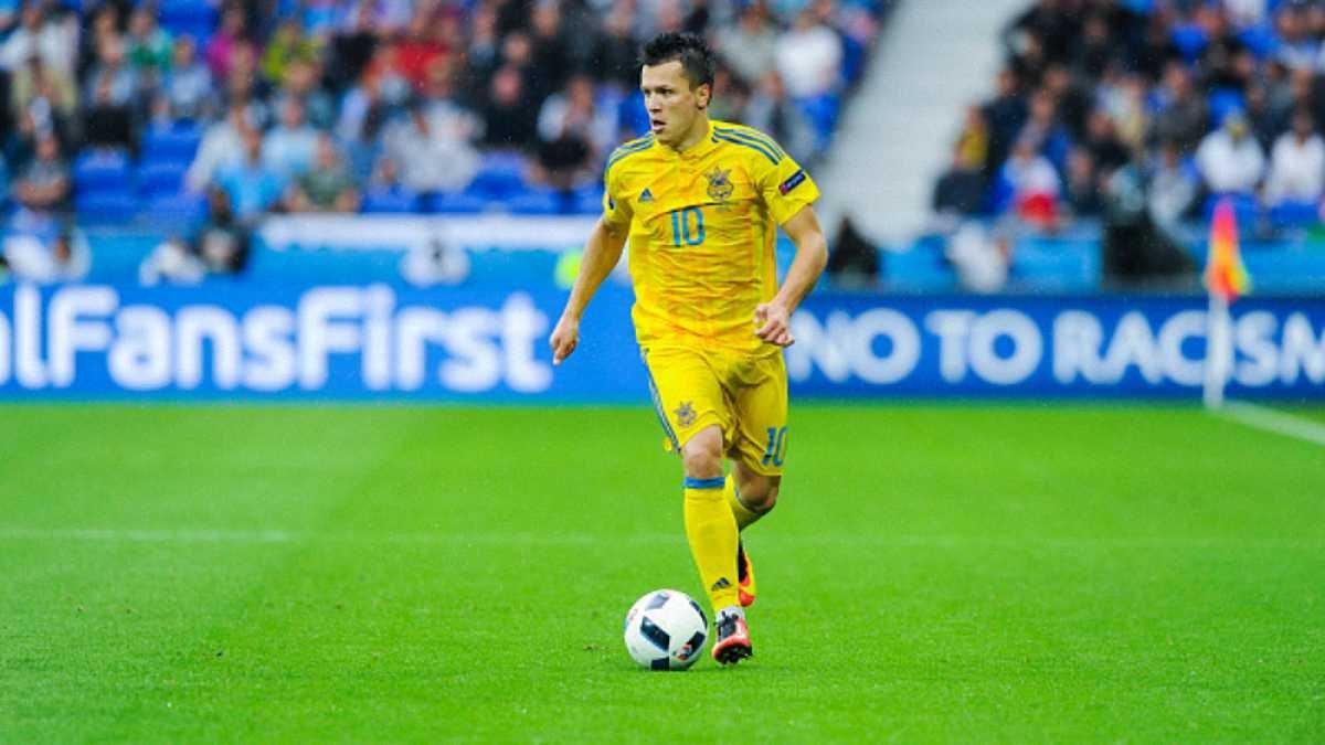 Коноплянка – лидер сборной Украины на Евро-2016 по атакующим показателям