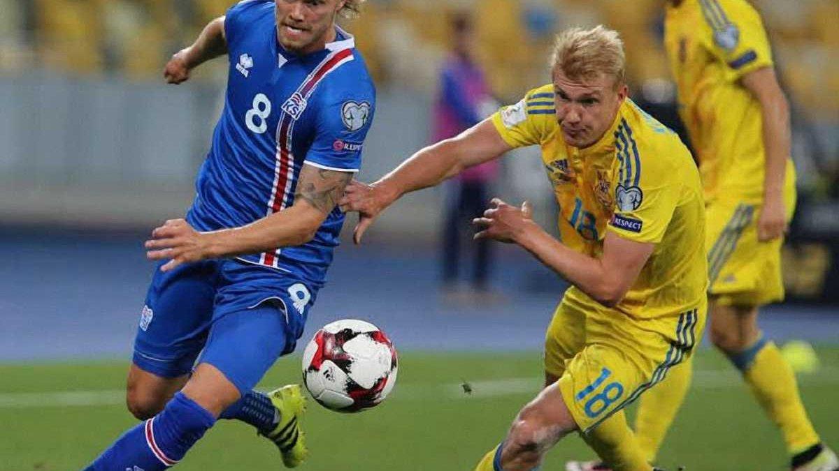 Україна зіграла у драматичну нічию з Ісландією