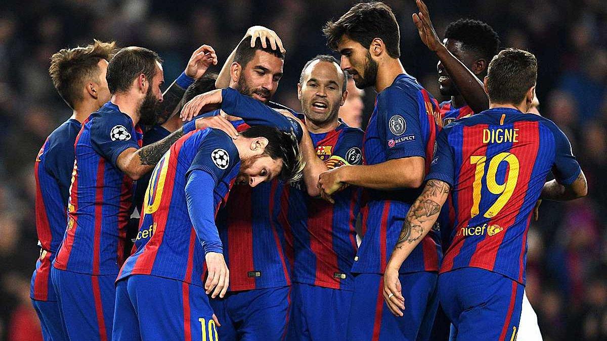 """Как игроки """"Барселоны"""" проводят рождественский отпуск"""