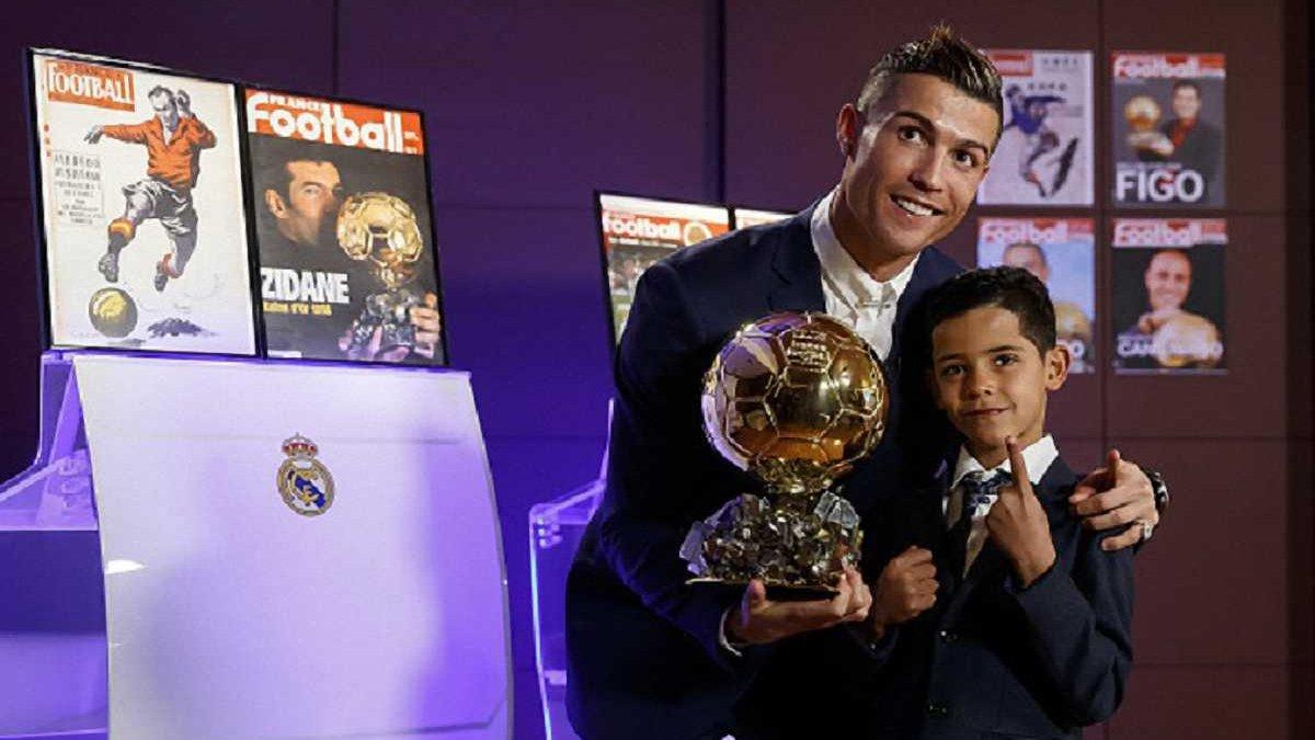 Роналду не хоче, щоб його син став воротарем