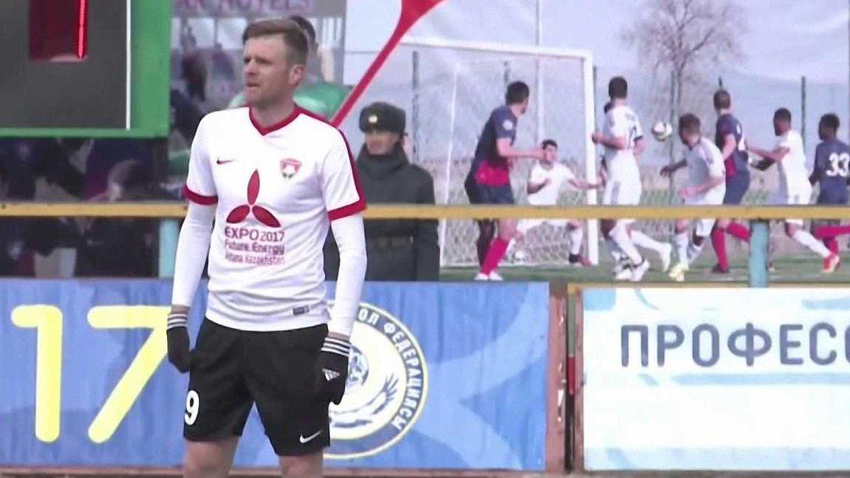 """Аржанов забив другий гол за казахський """"Кайсар"""""""