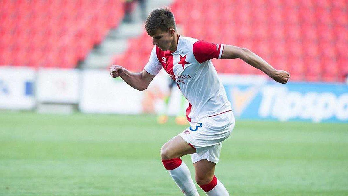 Соболь не зіграє за Славію в матчі плей-офф Ліги чемпіонів
