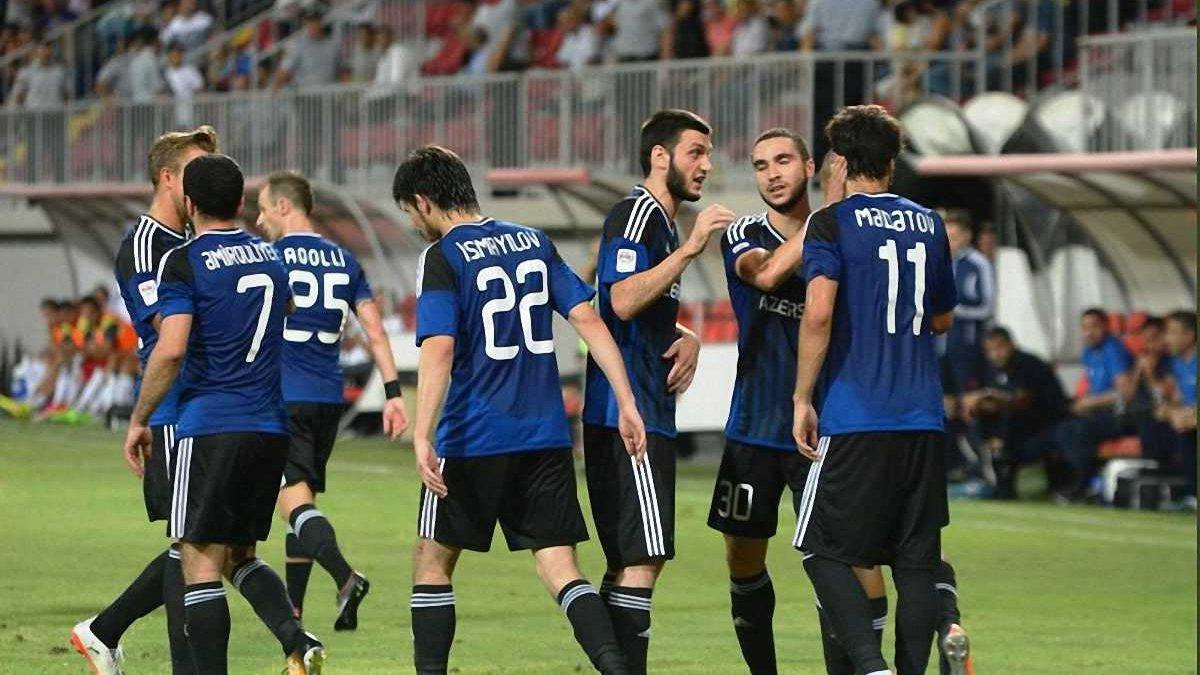 Ліга чемпіонів, раунд плей-офф: Карабах Каніболоцького мінімально переміг Копенгаген