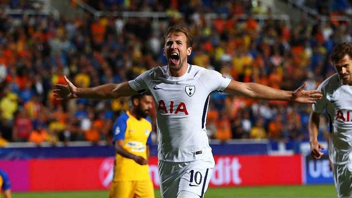 АПОЕЛ – Тоттенхем – 0:3 – Відео голів та огляд матчу