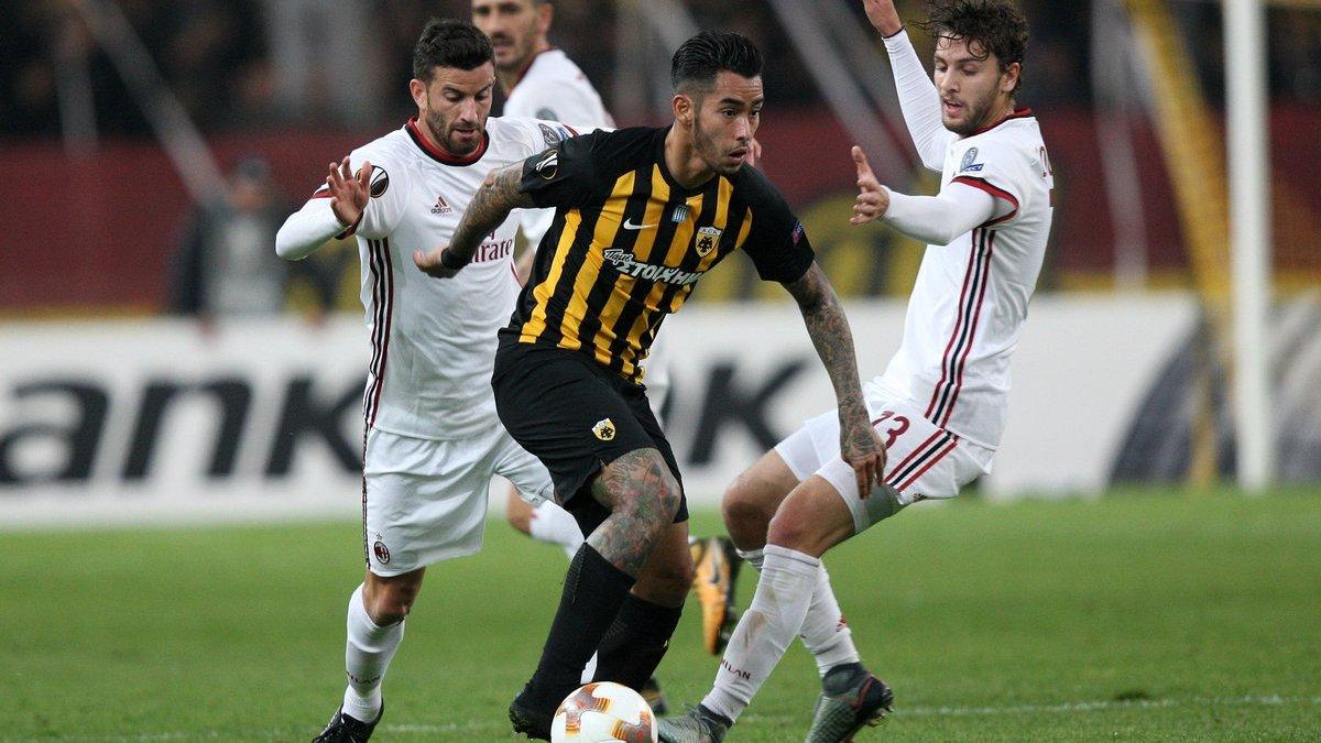 Ліга Європи: Ліон розбив Евертон, Мілан не зміг забити АЕКу