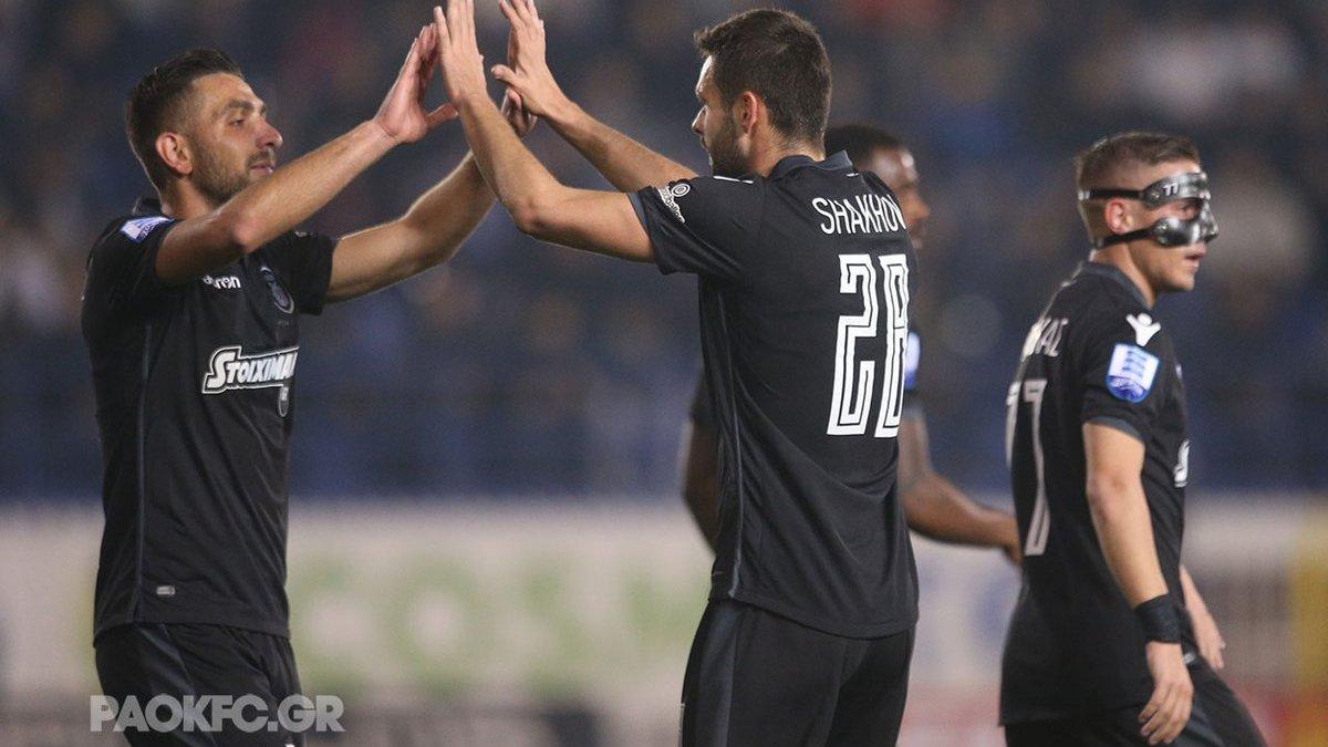 ПАОК победил Атромитос и вышел в полуфинал Кубка Греции – Шахов забил красивый гол