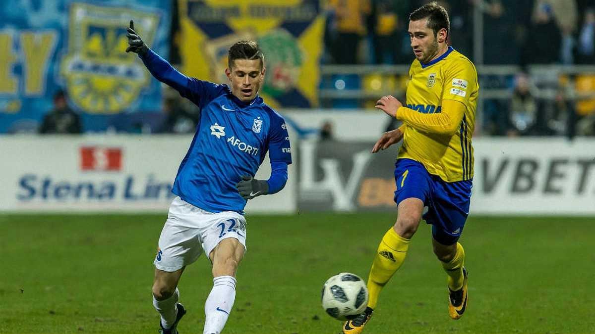 Лех та Арка зіграли внічию – Хобленко дебютував, Богданов відіграв весь матч, Костевич був замінений
