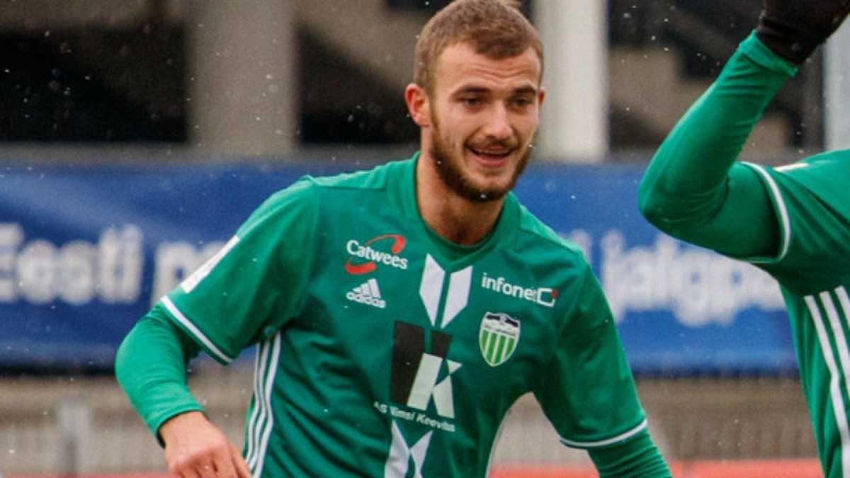 Дебелко оформил дубль за Левадию в матче против ФК Транс