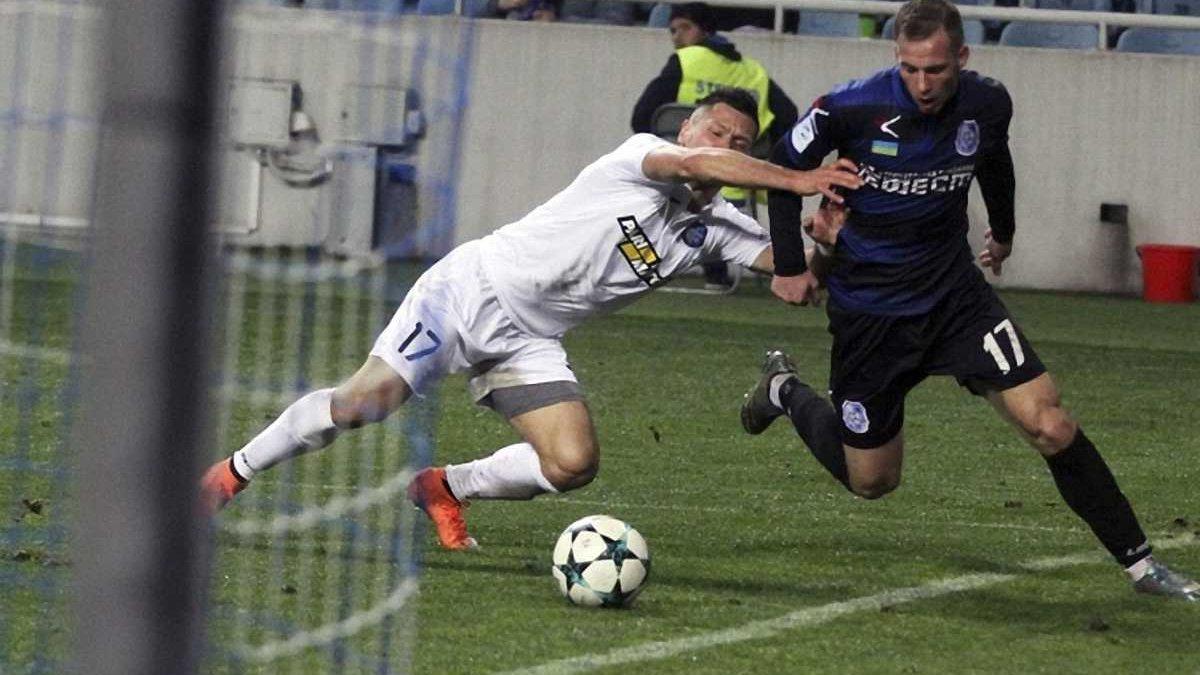 Чорноморець – Олімпік – 3:1 – відео голів і огляд матчу