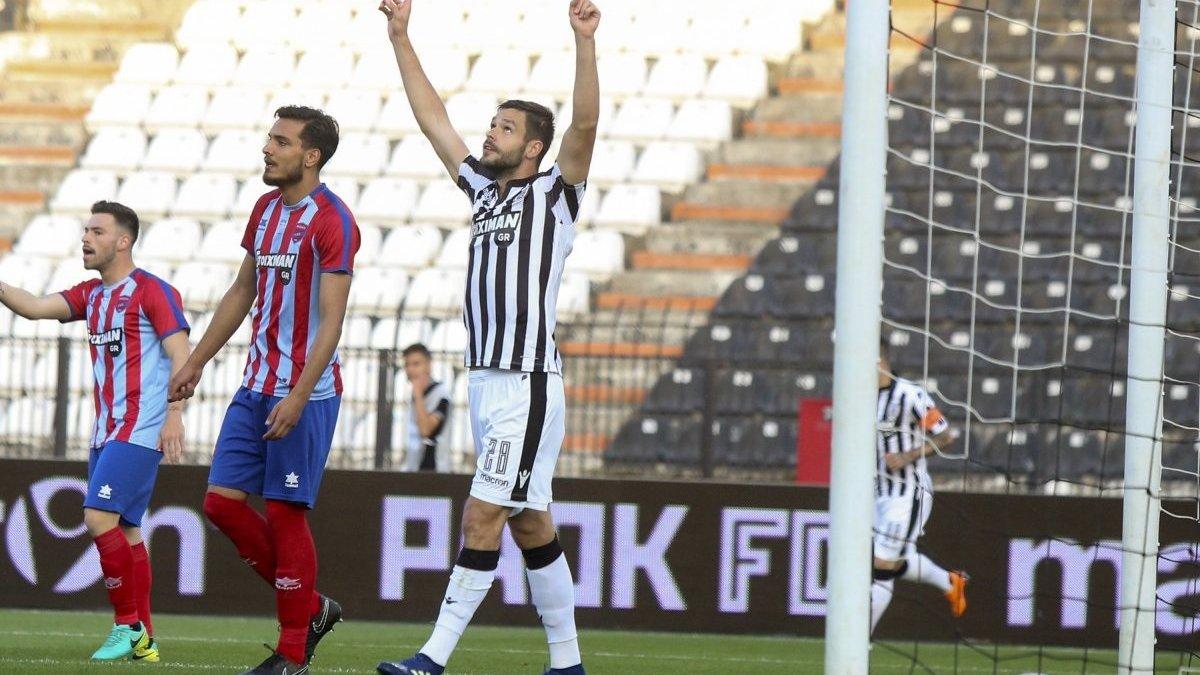 Шахов забил за ПАОК в матче против Паниониса