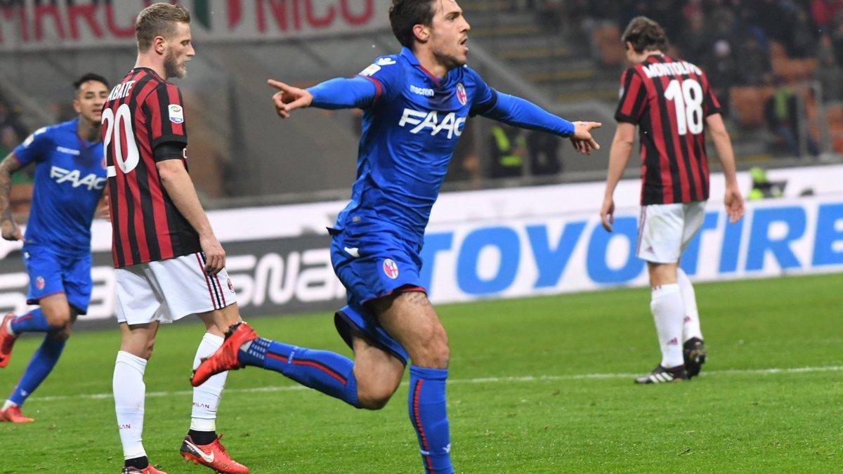 Болонья – Милан – 1:2 – видео голов и обзор матча