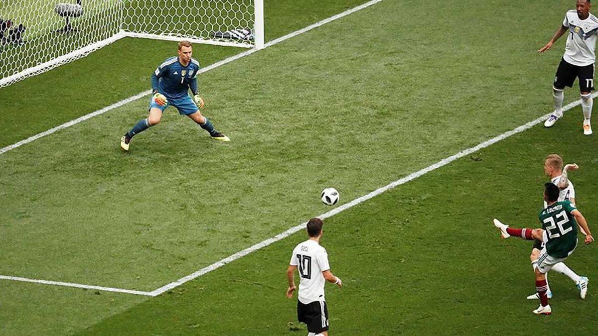 Німеччина – Мексика – 0:1 – відео гола та огляд матчу