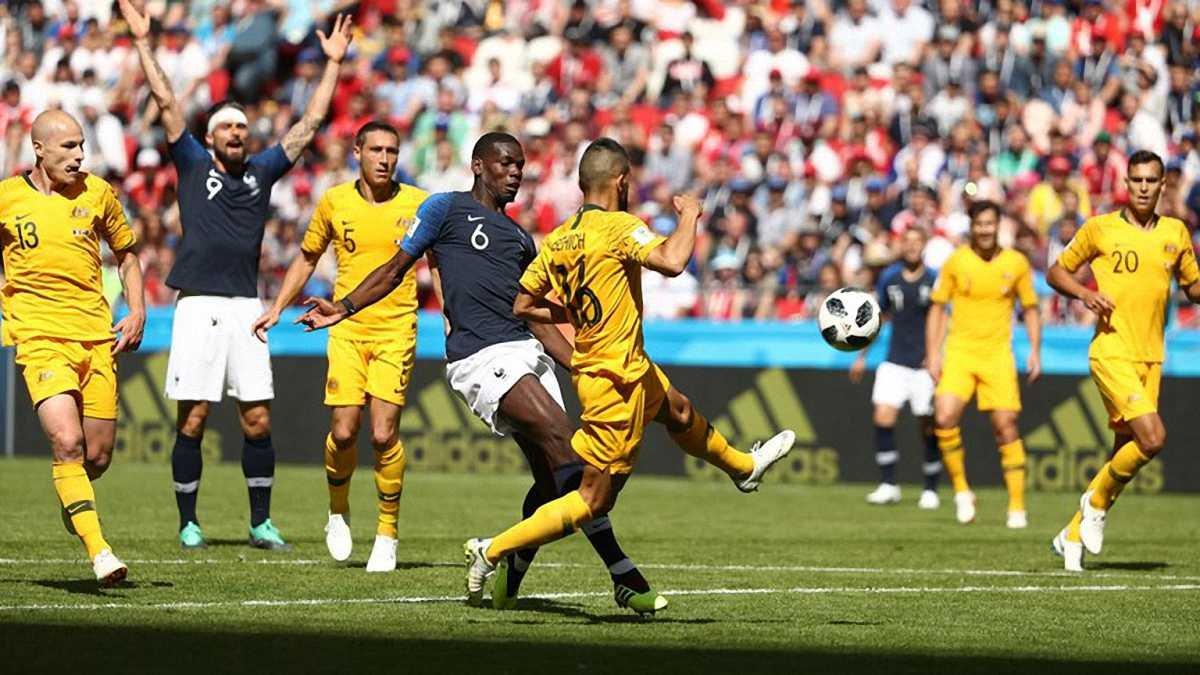 ЧС-2018 Франція – Австралія: ода новим технологіям, історичний рекорд і слабкість фаворита
