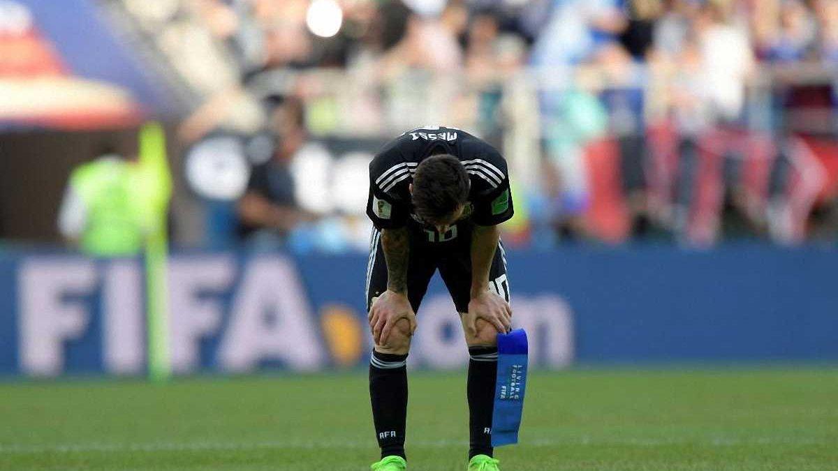 Як Мессі відреагував на нічию у матчі Аргентина – Ісландія – розпач і безсилля