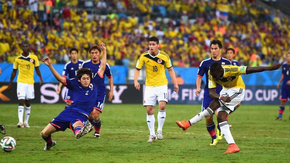 Колумбия – Япония: онлайн-трансляция матча ЧМ-2018 – как это было