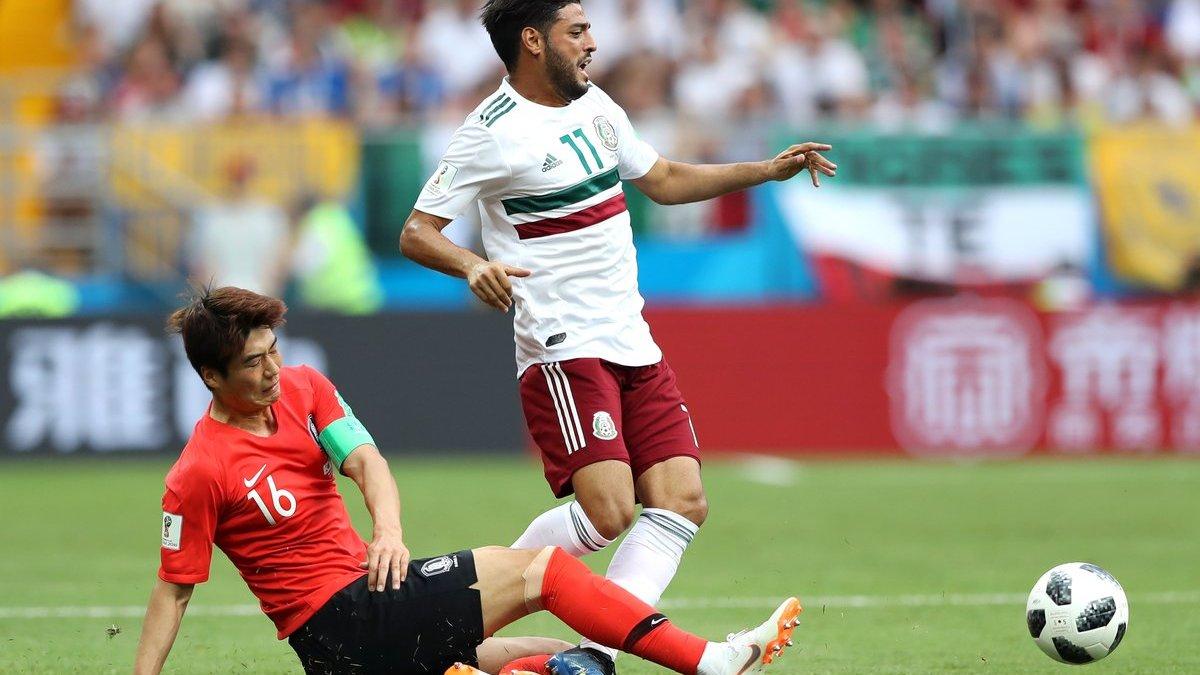 Південна Корея – Мексика – 1:2 – відео голів та огляд матчу