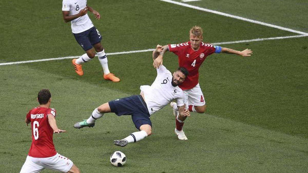 Дания – Франция – 0:0 – видеообзор матча