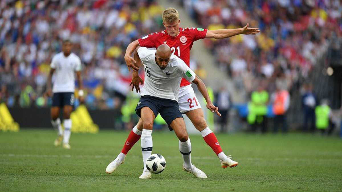 Дания – Франция: онлайн-трансляция матча ЧМ-2018 – как это было