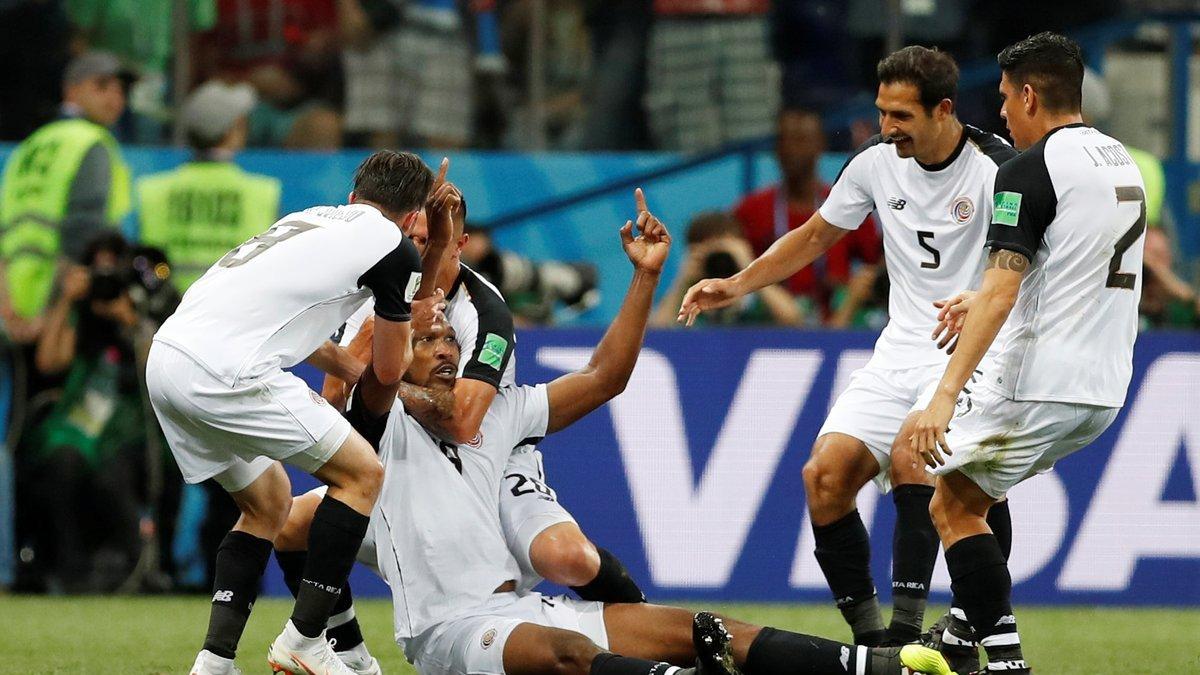 ЧМ-2018 Швейцария – Коста-Рика: красивое прощание команды Кейлора и прагматичные швейцарцы, которые хотели шведов