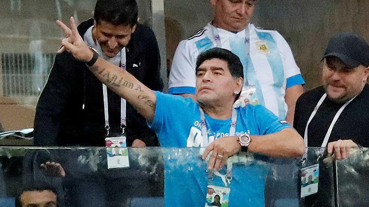 Марадона рассказал, что с ним случилось после матча Нигерия – Аргентина