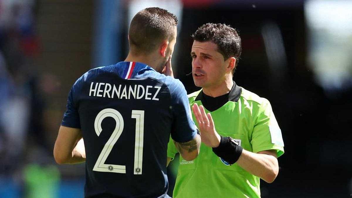 Франція – Бельгія: матч судитиме Андрес Кунья