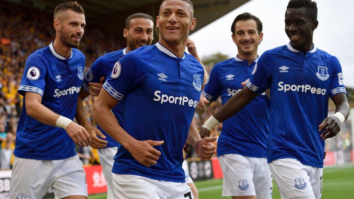 Вулверхэмптон – Эвертон – 2:2 – видео голов и обзор матча