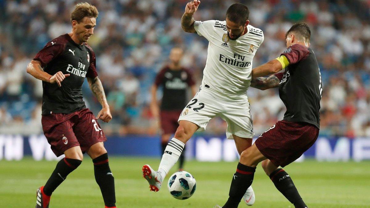 Реал обыграл Милан в матче за Кубок Бернабеу – Лунин снова сыграл на ноль