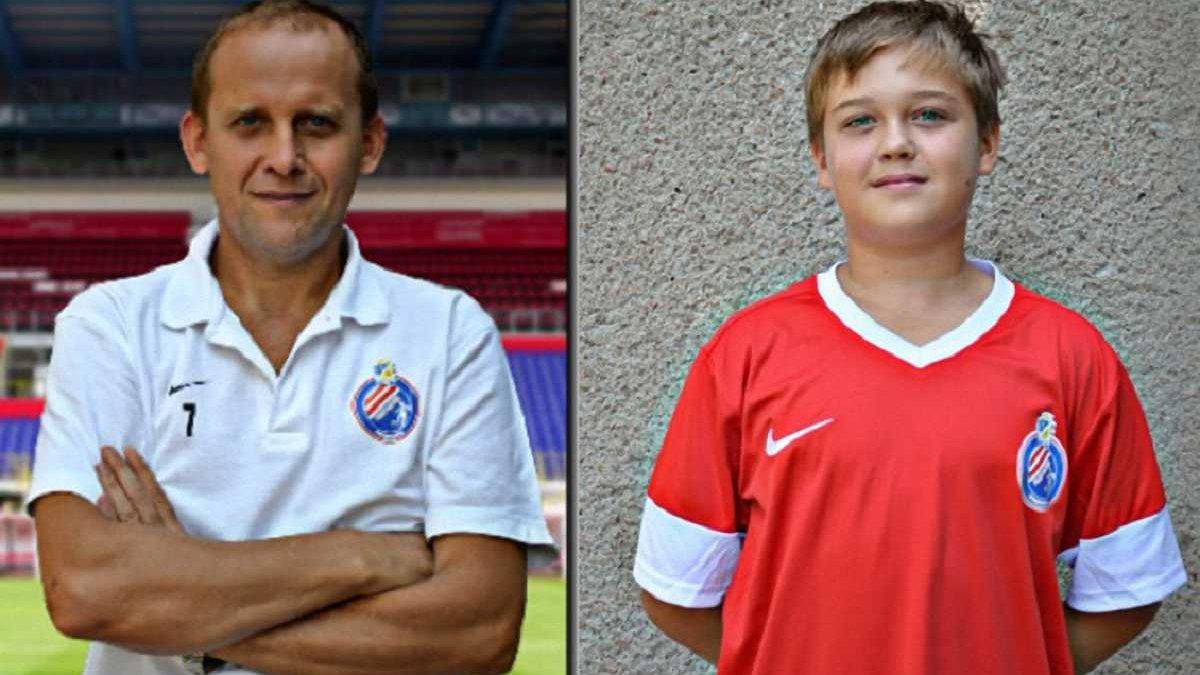 Президент ФК Реал Фарма стал самым возрастным футболистом в истории украинского футбола – он играет со своим сыном