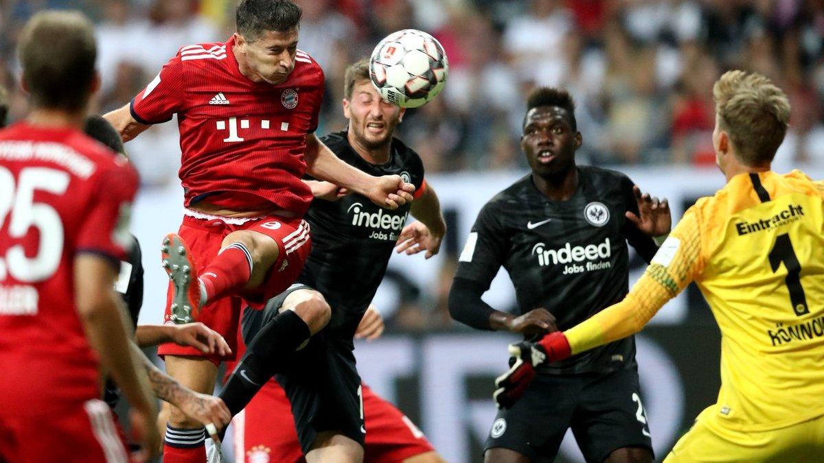 Бавария разбомбила Айнтрахт в матче за Суперкубок Германии