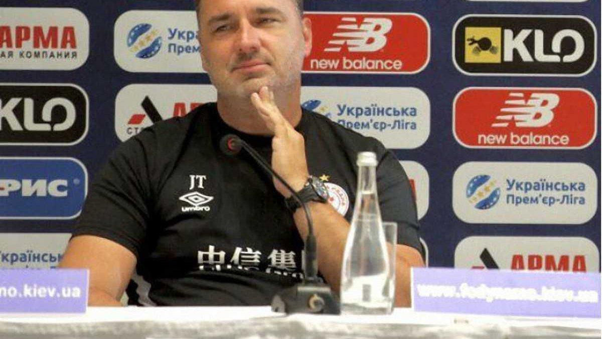 Наставник Славии Трпишовски: Против Динамо хотели бы меньше защищаться и больше атаковать
