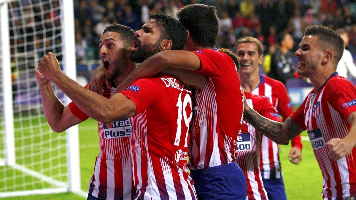 Атлетико в ярком матче победил Реал и завоевал Суперкубок УЕФА