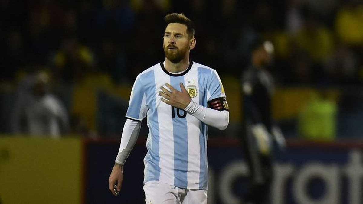 Месси временно прекратил выступления за сборную Аргентины, – СМИ