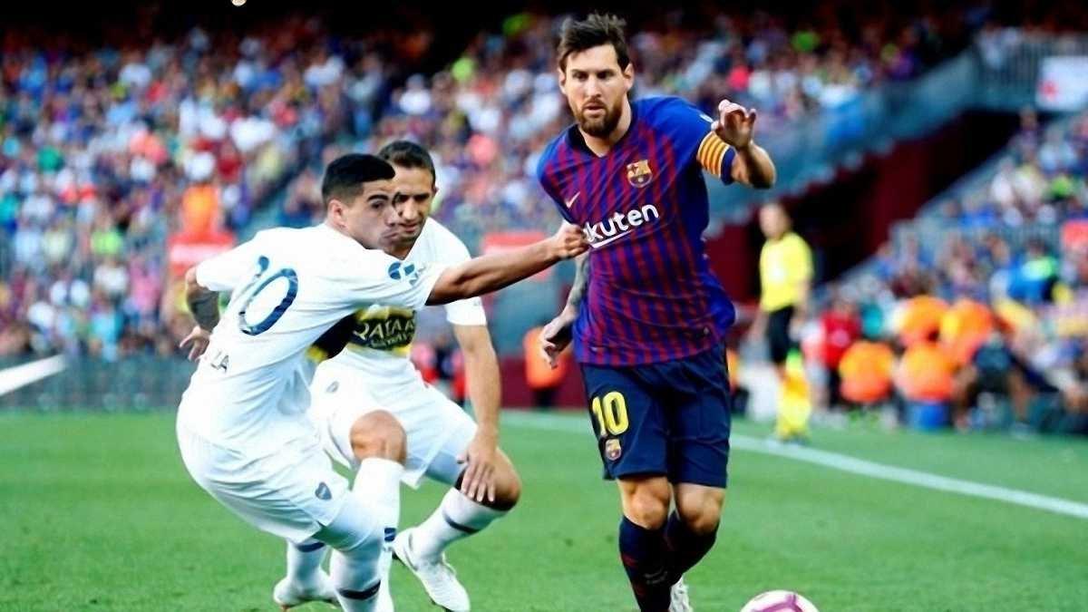 Барселона легко обыграла Боку Хуниорс и завоевала Кубок Гампера