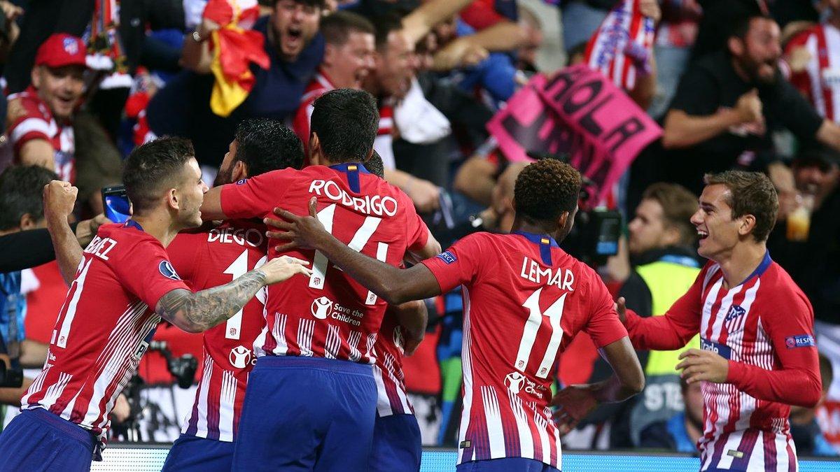 Реал – Атлетико: церемония награждения победителей Суперкубка УЕФА