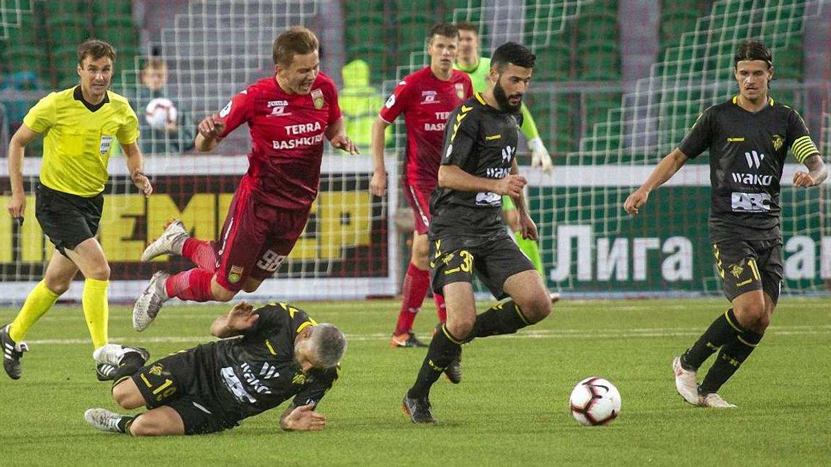 Ліга Європи, кваліфікація: люксембурзький Нідеркорн драматично втратив перемогу над російською Уфою