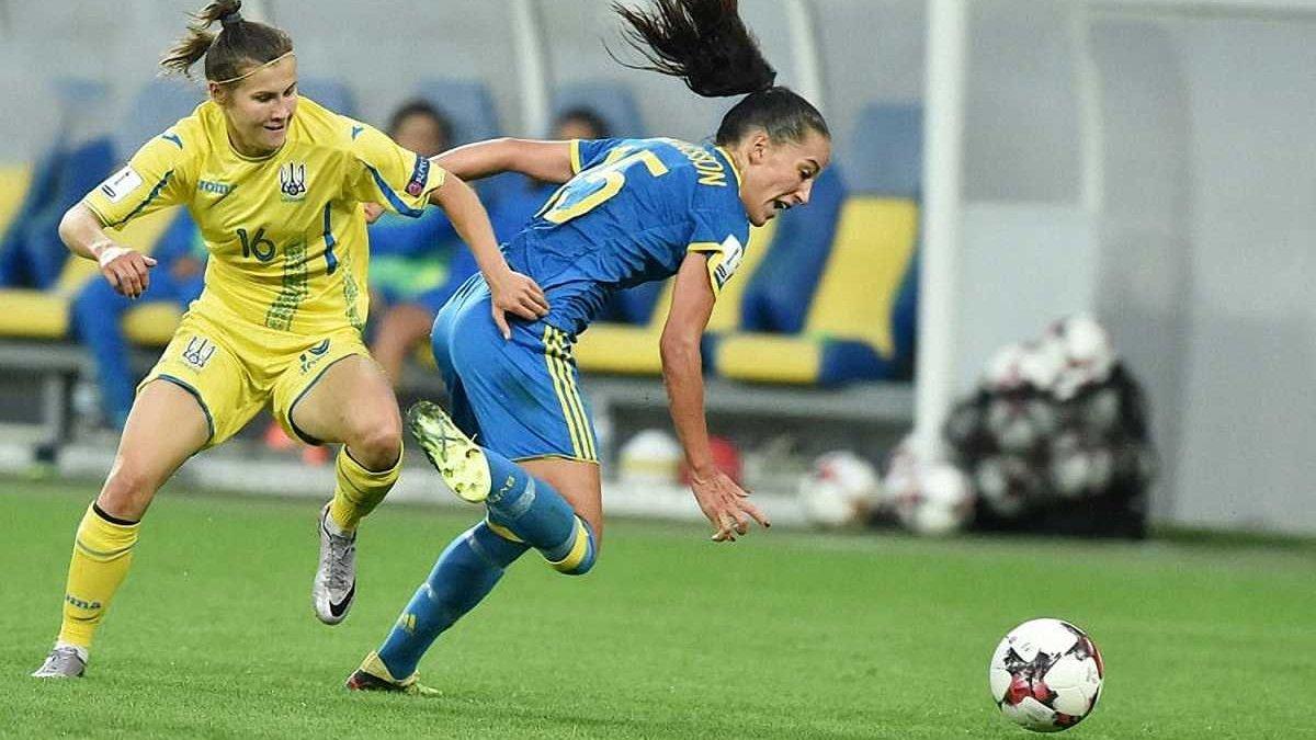 Останній матч кваліфікації ЧС-2019 жіноча збірна України проведе в Тернополі