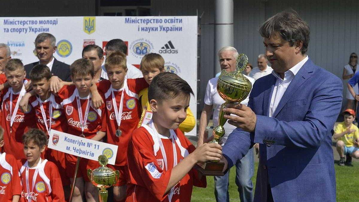 """""""Шкіряний м'яч"""" – це чудовий проект, який створює міцну основу для розвитку масового футболу в Україні"""