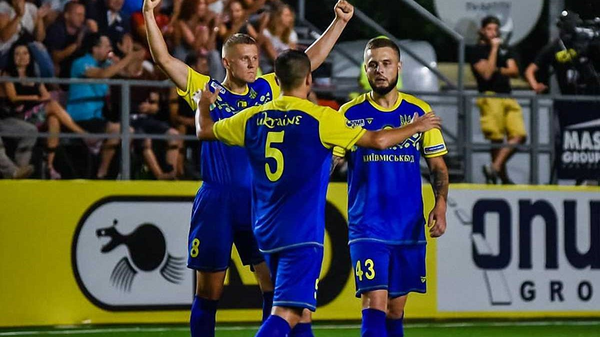 Збірна України з міні-футболу у серії пенальті програла Англії у чвертьфіналі Євро-2018