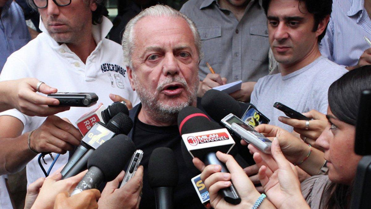 Палотта о заявлении президента Наполи: Что Де Лаурентис курит у себя в Неаполе?
