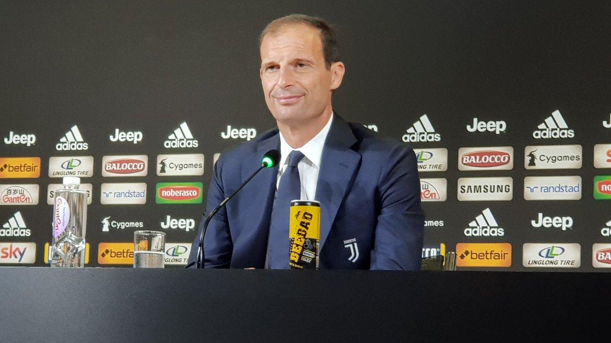 Аллегри: Роналду доволен своим дебютом
