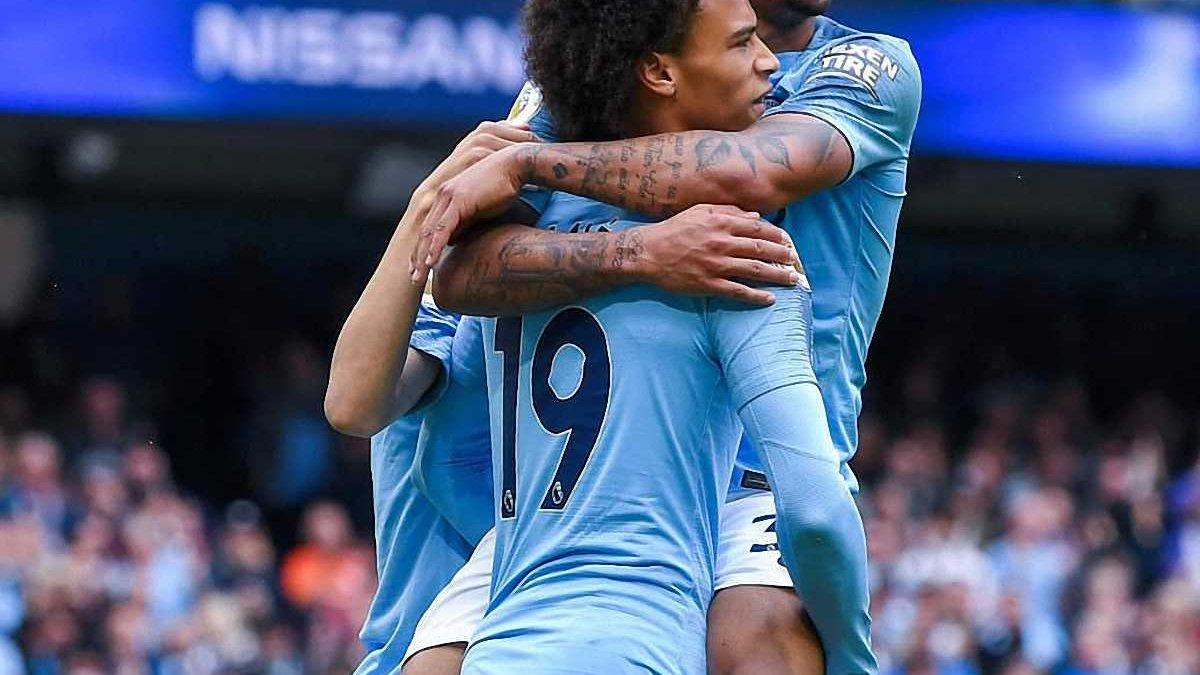 Манчестер Сити – Хаддерсфилд – 6:1 – видео голов и обзор матча