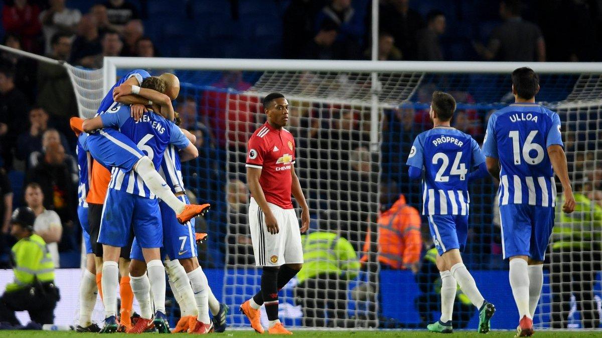 Брайтон – Манчестер Юнайтед – 3:2 – видео голов и обзор матча