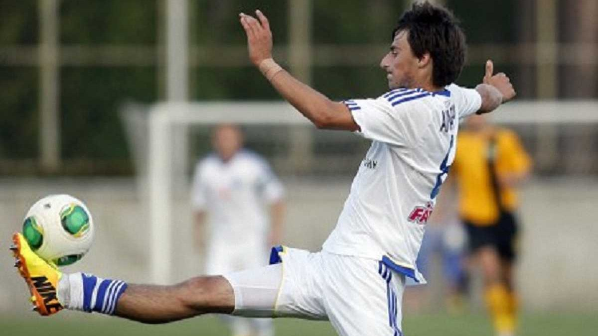 Українець Акубардія забив гол у дебютному матчі за Гомель