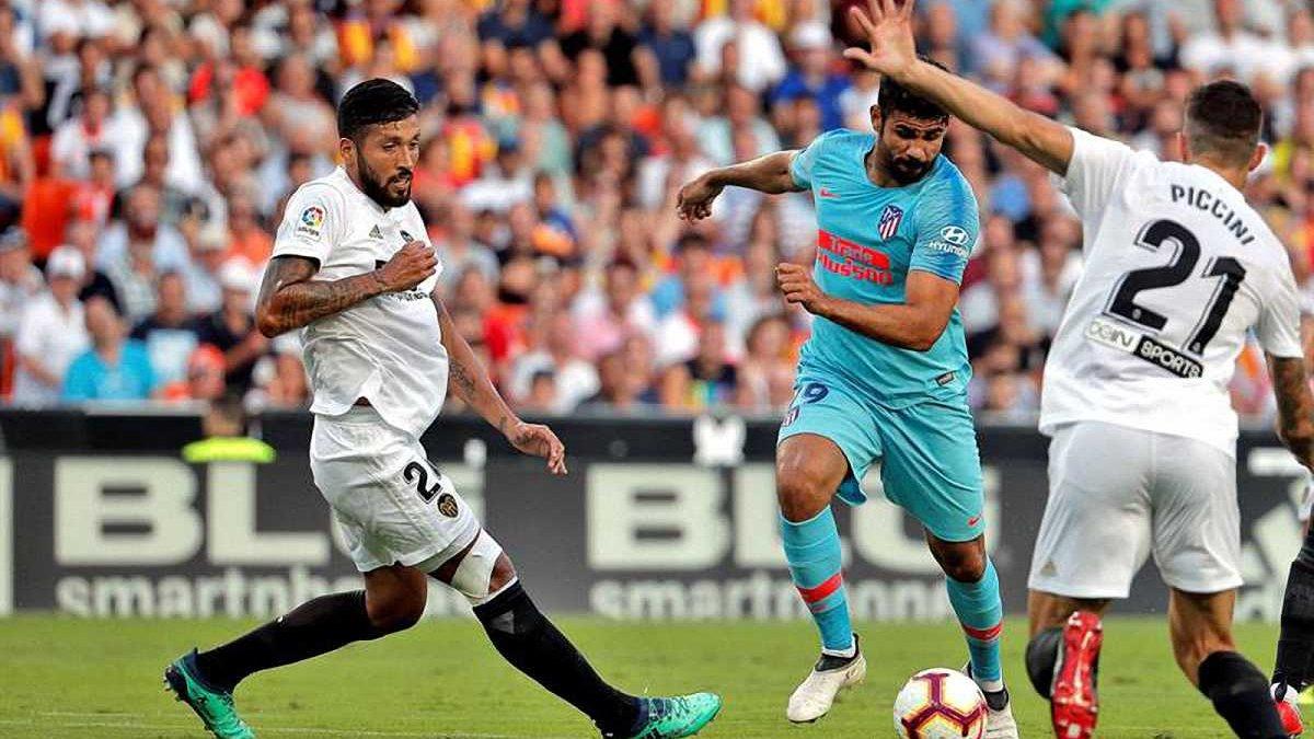 Валенсия и Атлетико сыграли вничью