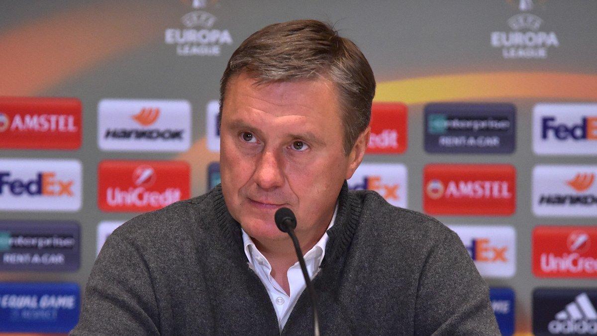 Аякс – Динамо: предматчевая пресс-конференция Александра Хацкевича