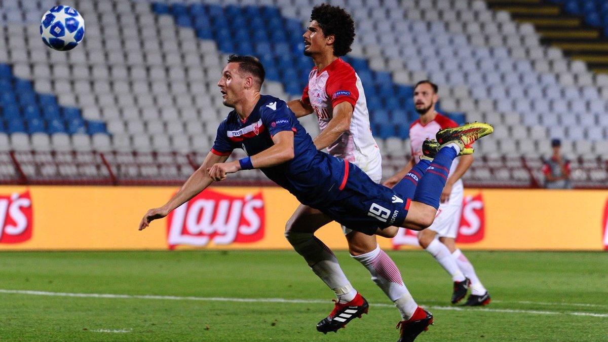 Црвена Звезда – Зальцбург – 0:0 – видеообзор матча