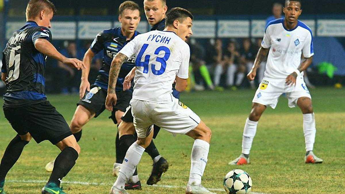 Чорноморець – Динамо – 1:1 – відео голів та огляд матчу