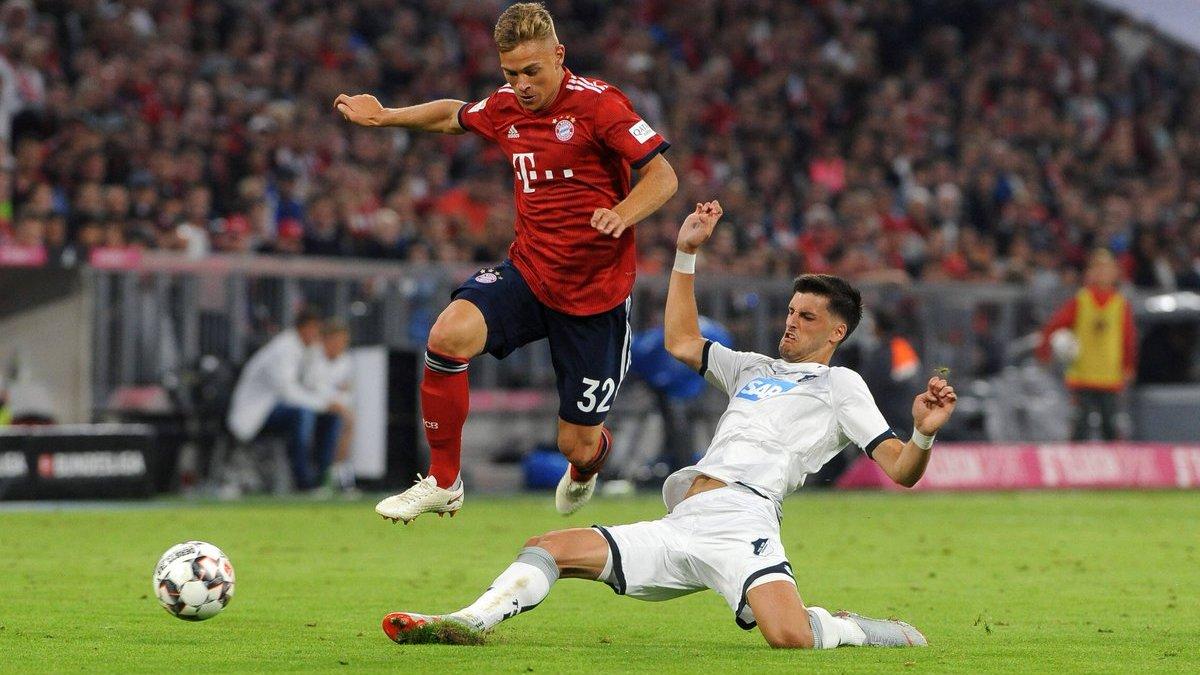 Бавария дома победила Хоффенхайм